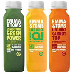 Emma and toms orange juice - 250ml thumbnail