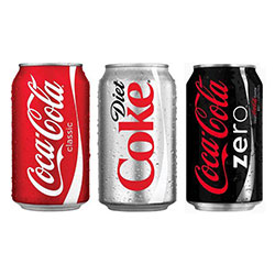 Soft drinks cans - 375ml  thumbnail
