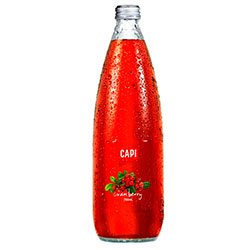 Sparkling flavoured mineral water - Capi - 750ml thumbnail