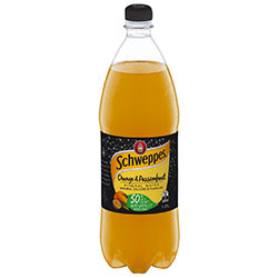 Schweppes orange and mango mineral water thumbnail