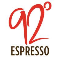 92 Degree Espresso logo