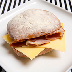 Bacon and cheese roll thumbnail