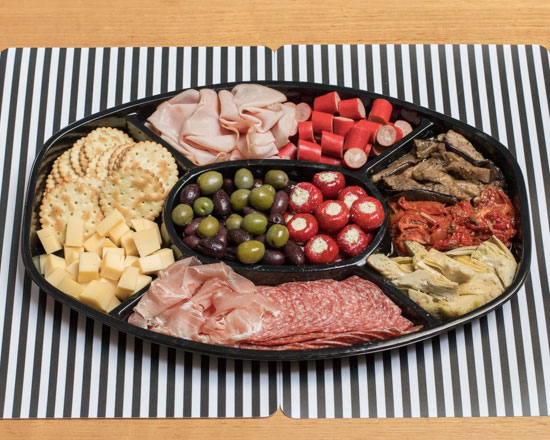 Cheese and cold meat platter thumbnail