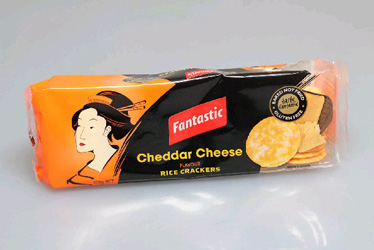 Fantastic rice crackers - 100g thumbnail
