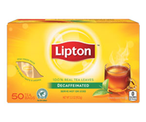 Decaffeinated tea bags - Lipton thumbnail