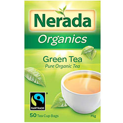 Green tea bags - Nerada thumbnail