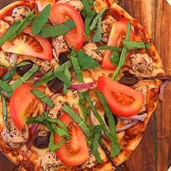 BBQ chicken pizza thumbnail