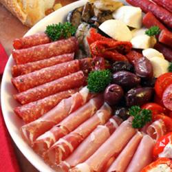Antipasto platter - serves 10 thumbnail