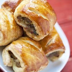 Gourmet sausage mini rolls  thumbnail