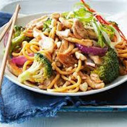 Hokkien noodles with prawns thumbnail