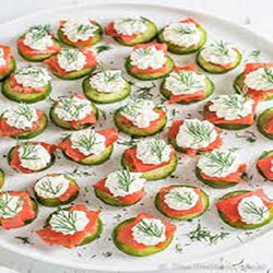 Smoked salmon and fresh dill on rye thumbnail
