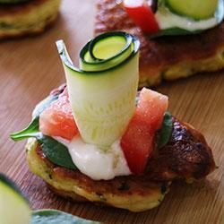 Zucchini pattie thumbnail