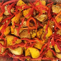 Roasted vegetable salad thumbnail