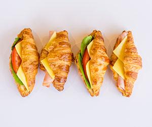 Savoury croissant - mini thumbnail