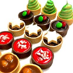 Christmas tarts - mini thumbnail