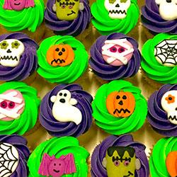 Halloween mini cupcakes thumbnail