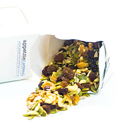 Mixed nuts and dried fruit snack box - 8 oz thumbnail