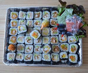 Assorted sushi wheel thumbnail