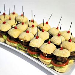 Gourmet lamb burger - mini thumbnail