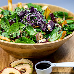Beetroot feta and walnut salad thumbnail