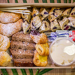 Mixed sweet pastries platter thumbnail