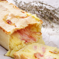 Bacon and egg pie thumbnail