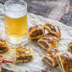 Alejo's lamb and rosemary sausage rolls thumbnail