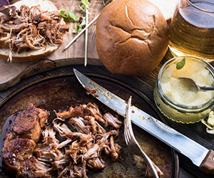 MYO BBQ pulled pork rolls thumbnail