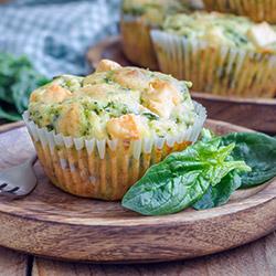Pumpkin, feta cheese and sundried tomato savoury muffins thumbnail