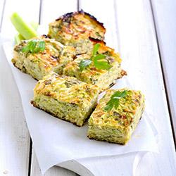 Zucchini and sweet corn platter thumbnail