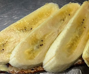 Banana and toast platter thumbnail