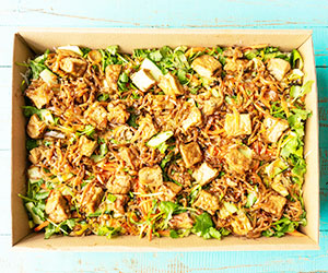 Special marinated tofu noodles thumbnail