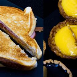 Breakfast toastie and sweet tart package thumbnail