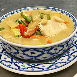 Chicken green curry thumbnail