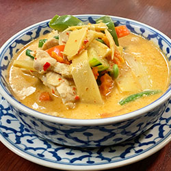 Chicken panang curry thumbnail