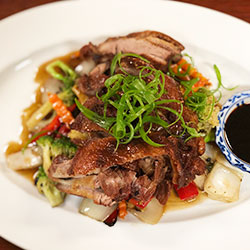 Roast duck stir fry thumbnail