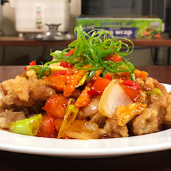 Sweet and sour pork stir fry thumbnail