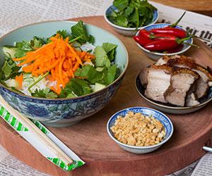 Pork vermicelli salad thumbnail