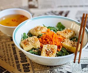Tofu vermicelli salad thumbnail