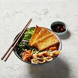 Salt and pepper tofu vermicelli bowl thumbnail