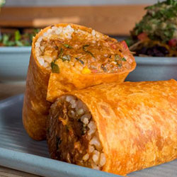 Pulled pork fiesta burrito thumbnail