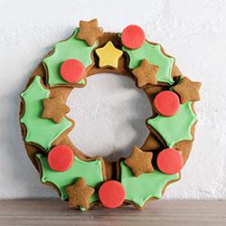 Gingerbread wreath thumbnail