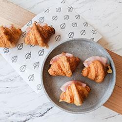 Ham and cheese croissant box thumbnail