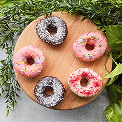 Mixed ring donuts box thumbnail