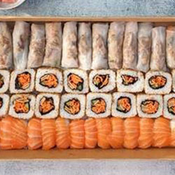Sushi and rice paper roll box thumbnail