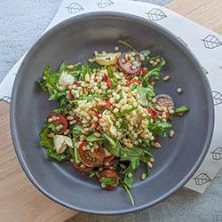 Calabrese, pesto and pearl couscous salad - individual thumbnail