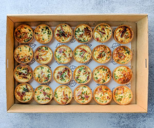 Egg and bacon tart box thumbnail