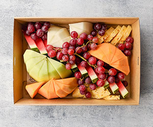 Fresh fruit platter box thumbnail