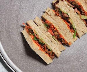 Individual sandwich - gluten free thumbnail