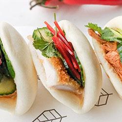 Steamed bao buns thumbnail